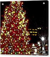 Christmas On Public Square Three Acrylic Print