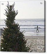Christmas On The Beach 2 Acrylic Print