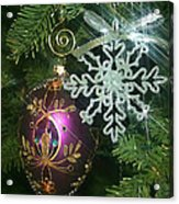 Christmas Ornaments 2 Acrylic Print