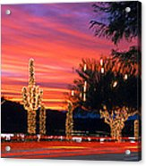 Christmas, Phoenix, Arizona, Usa Acrylic Print