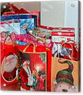 Christmas Presents Acrylic Print