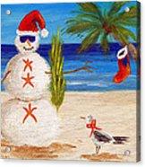 Christmas Sandman Acrylic Print