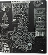 Christmas Scene Acrylic Print