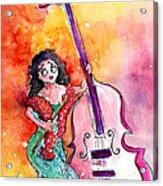 Christmas Sea Bass Acrylic Print