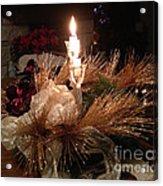 Christmas Shining Light Acrylic Print