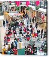 Christmas Shopping Acrylic Print