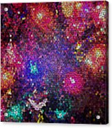 Christmas Stained Glass  Acrylic Print