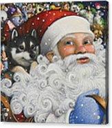 Christmas Stowaway Acrylic Print