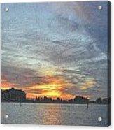 Christmas Sunset 3 Acrylic Print