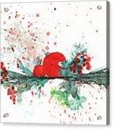 Christmas Theme 2 Acrylic Print