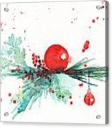 Christmas Theme 3 Acrylic Print