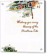 Christmas Tide Acrylic Print
