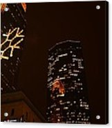 Christmas Time In The City Acrylic Print