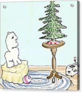Christmas Toaster Acrylic Print by Alan McCormick