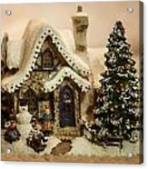 Christmas Toy Village Acrylic Print
