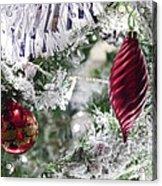 Christmas Tree Baubles Acrylic Print