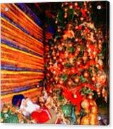 Christmas Tree Acrylic Print by George Rossidis