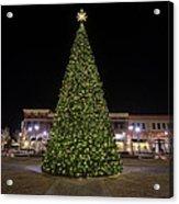 Christmas Tree Hampton City Center  Acrylic Print