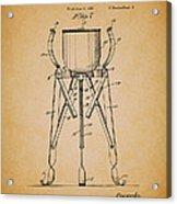 Christmas Tree Holder Patent 1927 Acrylic Print