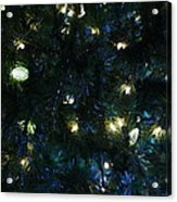 Christmas Tree Lights Acrylic Print