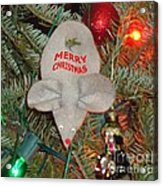 Christmas Tree Mouse Acrylic Print