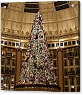 Christmas Tree Acrylic Print by Sandy Keeton