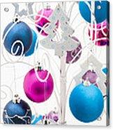 Christmas Tree Tree Acrylic Print by Anne Gilbert