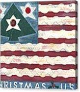 Christmas U.s.a. Acrylic Print