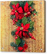 Christmas Wall Hanging Acrylic Print