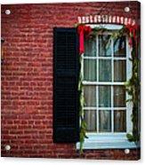 Christmas Window #1 Acrylic Print