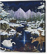 Christmas Wonder Acrylic Print