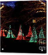 Christmas Wonderland Walk Acrylic Print
