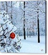Christmasland Acrylic Print