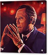 Christopher Walken Painting Acrylic Print