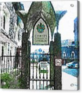 Christ's College Canterbury Acrylic Print