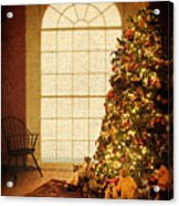 Chritsmas Tree Acrylic Print