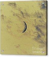Chromatic Moon Acrylic Print