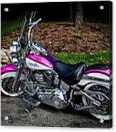 Chrome Galore Acrylic Print