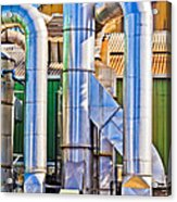 Chrome Industry Acrylic Print