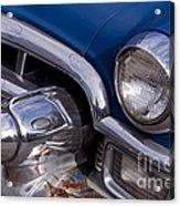 Chrome Inside Chrome On Rust   #4780 Acrylic Print