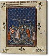 Chroniques De France Ou De Saint Denis Acrylic Print