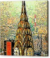 Chrysler Building New York City 20130503 Acrylic Print by Wingsdomain Art and Photography