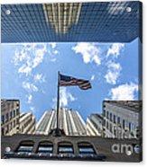 Chrysler Building Reflections Horizontal Acrylic Print