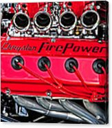 Chrysler Fire Power Acrylic Print