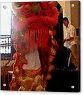 Chua Truc Lam One Man Dragon Acrylic Print by Shawn Lyte