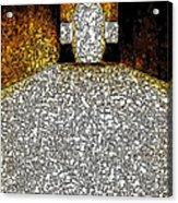 Chubby Cross 2 Acrylic Print