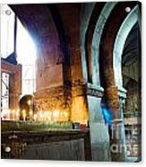 Chuch Of The Holy Sepulchre In Jerusalem Acrylic Print