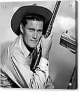 Chuck Connors - The Rifleman Acrylic Print