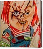Chucky Acrylic Print