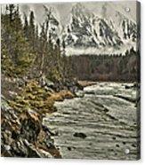 Chugach Range Acrylic Print